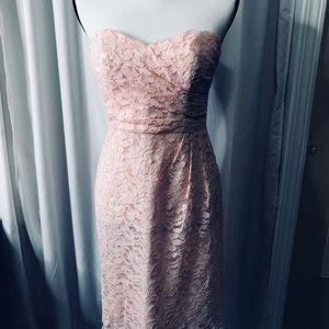 David's Bridal Lace Short Mini Dress 4